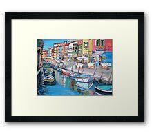 Burano, Italy Framed Print