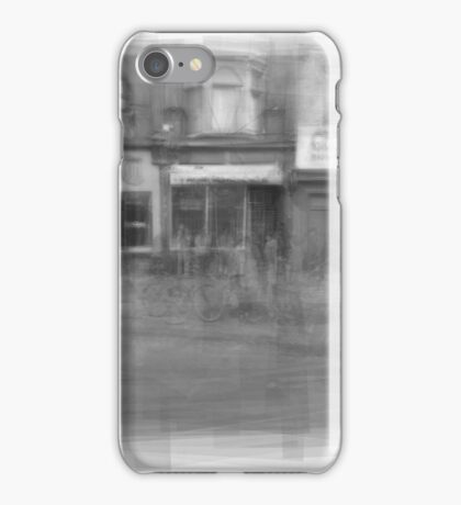 Angst downtown Toronto streetscape iPhone Case/Skin
