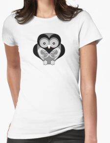 OWL 3 Womens Fitted T-Shirt