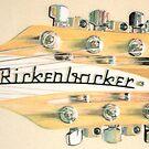 Guitar head by Peter Brandt