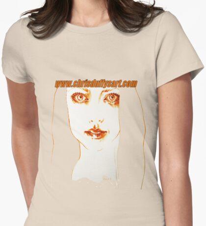 Chris Duffy Art Tee's Womens Fitted T-Shirt