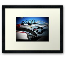 Red, White and Blue... Framed Print