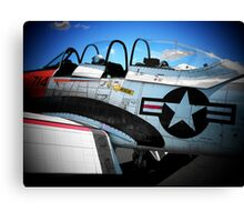Red, White and Blue... Canvas Print