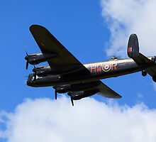 Avro Lancaster City of Lincoln by Mark Baldwyn