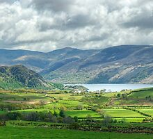 Ennerdale Landscape...Views Of Lake And Fells by Jamie  Green