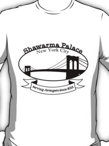 Shawarma Palace - Voted #1 in New York City T-Shirt