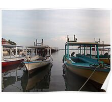 Bali Boats Poster