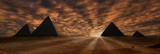 Great Pyramids by Cliff Vestergaard