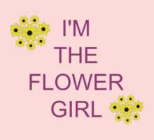I'm the flower girl Kids Clothes