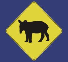 Tapir Crossing by DILLIGAF