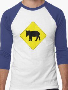 Tapir Crossing Men's Baseball ¾ T-Shirt