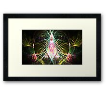 Tropical Jewel Framed Print