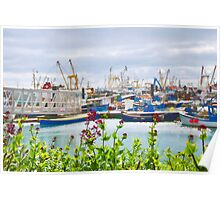 Newlyn Harbour ~ Cornwall Poster