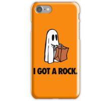I GOT A ROCK. iPhone Case/Skin