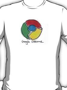 Google Chrome Internet Browser T Shirt T-Shirt
