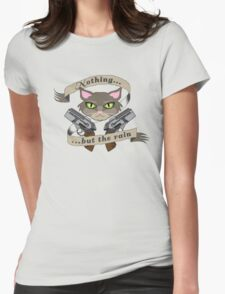 What do you hear, Starbuck? Womens Fitted T-Shirt
