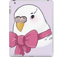 Bow Budgie iPad Case/Skin