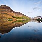 Buttermere Reflections by David Lewins