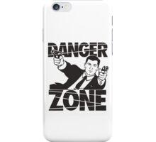 danger zone acher  iPhone Case/Skin