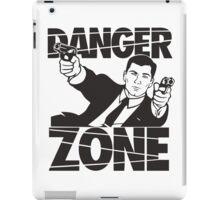 danger zone acher  iPad Case/Skin