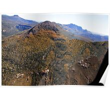 Beautiful Tasmania - Coming round the mountain Poster