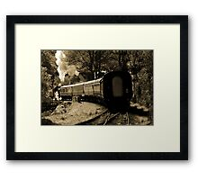 Back to Front Framed Print