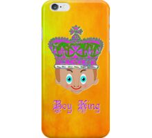 The King on Gold iPhone case design iPhone Case/Skin