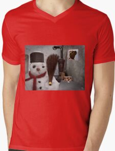 snowman at home T-Shirt