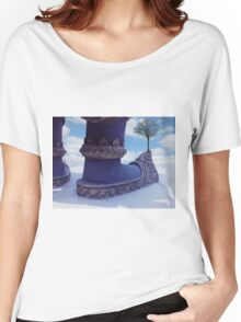 tree on shoe Women's Relaxed Fit T-Shirt
