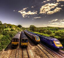 Summer Saturday at Aller Junction by Rob Hawkins