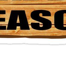 Wabbit season Sticker