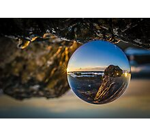 Turning the world upside down Photographic Print