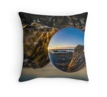 Turning the world upside down Throw Pillow