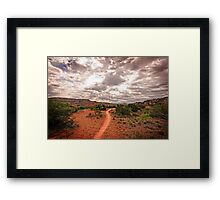 Path to Glory Framed Print