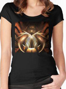 Bronze Spider Women's Fitted Scoop T-Shirt