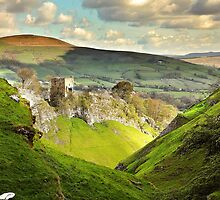 Peveril Castle, Castleton by Mat Robinson