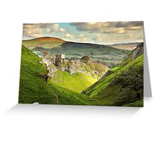 Peveril Castle, Castleton Greeting Card