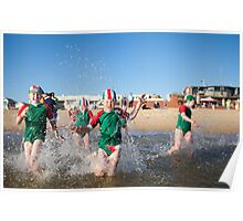 Running Nippers Poster