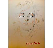 Marilyn, Beautiful Photographic Print