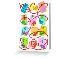TWELVE SAYINGS Greeting Card