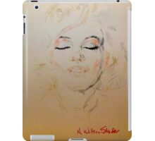 Marilyn, Beautiful iPad Case/Skin
