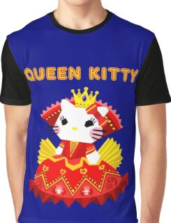 Queen Kitty Graphic T-Shirt