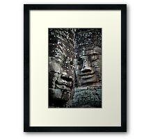 Bayon, Cambodia Framed Print
