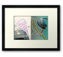 from the end-less always beginning Framed Print