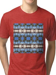 Palm tree pattern Tri-blend T-Shirt