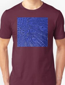 Mommy and her little one matching Blue Peacock QTees Unisex T-Shirt