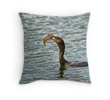It's Chow Time Throw Pillow