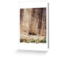 White House Ruins, Canyon de Chelley, Arizona Greeting Card