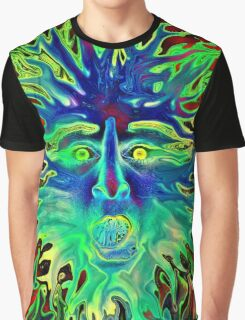 Psychedelic Sunshine Graphic T-Shirt