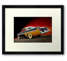 She Took Me for a Ride Framed Print